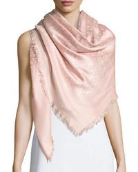 Viva logo printed silk blend shawl medium 874390