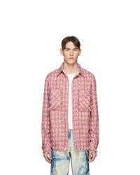 Faith Connexion Pink Tweed Shirt