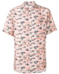 Lanvin Shark Print Shirt