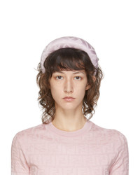Fendi Pink Silk Forever Headband