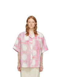 Jacquemus Pink La Chemise Vallena Short Sleeve Shirt