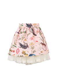 RED Valentino Forest Print Full Skirt