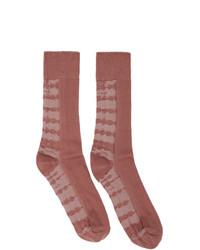 Issey Miyake Men Pink Dyeing Socks