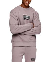 Topman Dreamscape Graphic Sweatshirt