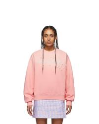Kenzo Pink Beaded Logo Sweatshirt