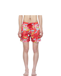 Vilebrequin Red Moorea Swim Shorts