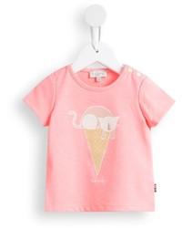 Paul Smith Junior Cat Ice Cream Print T Shirt