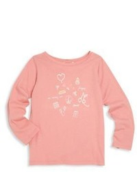 Bonpoint Toddlers Little Girls Cotton Graphic Tee