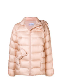 RED Valentino Bow Detail Padded Jacket