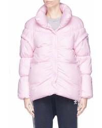 Phvlo Detachable Sleeve Rainproof Puffer Jacket