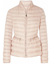 Quilted shell down jacket pastel pink medium 6992407