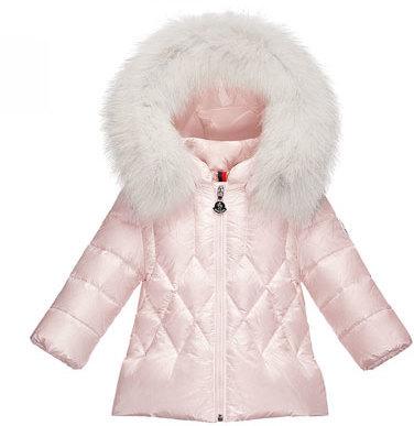 light pink moncler