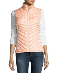 The North Face Thermoballtm All Weather Quilted Vest Tropical Peach