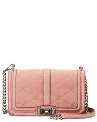 Love quilted nubuck crossbody bag medium 5146416