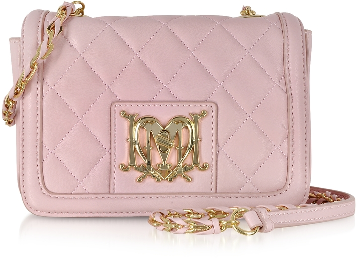 cb9d0aaad9 ... Bags Love Moschino Moschino Quilted Eco Leather Crossbody ...