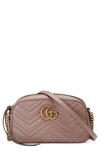 8343d6b65044 Gucci Small Gg Marmont 20 Matelasse Leather Camera Bag, $1,290 ...