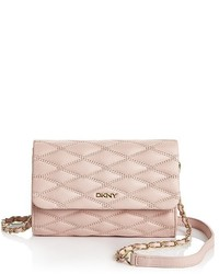 DKNY Small Quilted Flap Crossbody