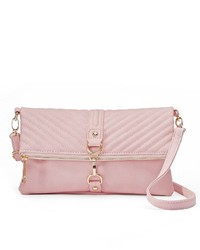 Yoki Ribbed Quilted Crossbody Bag