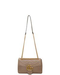 Gucci Pink Medium Gg Marmont 20 Shoulder Bag