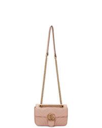 Gucci Pink Mini Marmont Bag