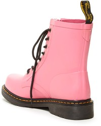 Dr. Martens Drench Combat Rain Boot   Where to buy & how to wear
