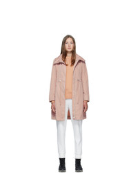 Moncler Pink Malachite Coat