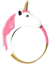 G9 Enamel Unicorn Ring