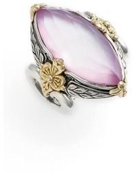 Konstantino Iliada Marquise Doublet Ring