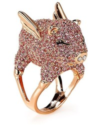 Kate Spade New York Pav Pig Cocktail Ring