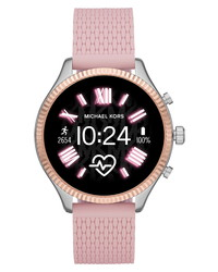 Michael Kors Gen 5 Lexington Silicone Smart Watch