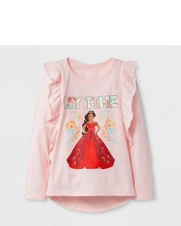 Disney Princess Toddler Girls Disney Princess Long Sleeve T Shirt Pink