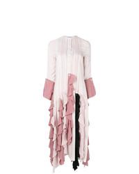 JW Anderson Striped Ruffle Dress