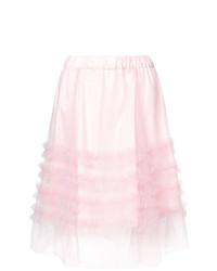 P.A.R.O.S.H. High Waisted Ruffle Skirt