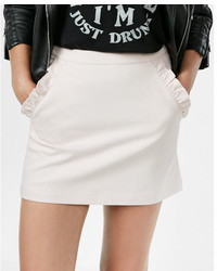 Ruffle pocket mini skirt medium 5172492