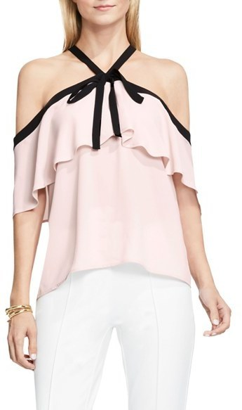 fab26446d2ffdf Vince Camuto Ruffle Off The Shoulder Blouse, $79 | Nordstrom ...