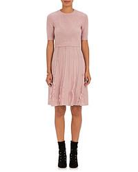 Valentino Layered Look Wool Dress