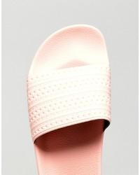 8381c23d91292 ... adidas Originals Adilette Slides In Pink Ba7538