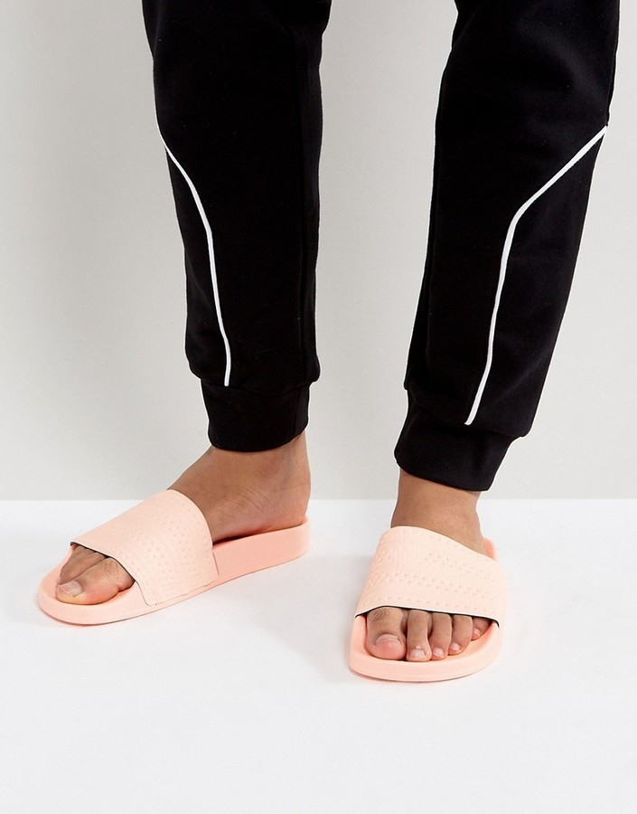 official photos ec7cc c4313 ... adidas Originals Adilette Slides In Pink Ba7538 ...