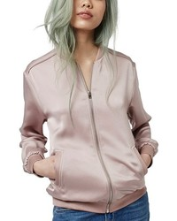 Satin bomber jacket medium 784959