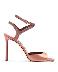 Jimmy Choo Helen 100mm Satin Sandals