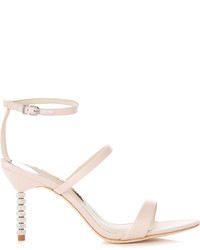 Rosalind crystal heel satin sandals medium 1127290