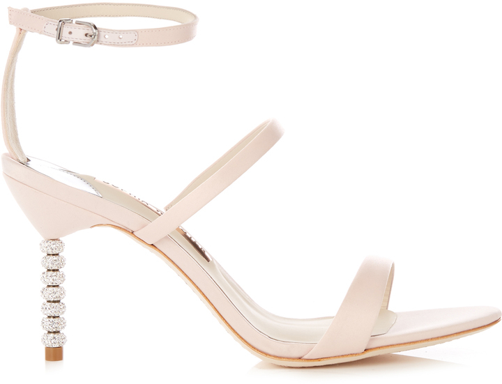 402be71a8dd ... Sophia Webster Rosalind Crystal Heel Satin Sandals