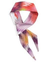 London elizzai expressive pansy mini scarf medium 3655435