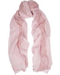 Maje Open Knit Wool Scarf