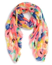 The Accessory Collective Abstract Floral Scarf