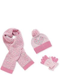 JCPenney Toby Toby Beanie Scarf And Gloves Girls 2t 6x