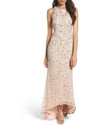 Sequin highlow gown medium 4014847