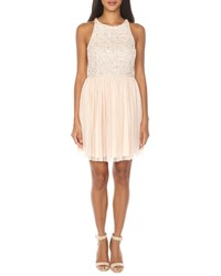 Lace & Beads Picasso Sequin Cocktail Dress