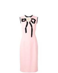 Gucci Rose Bow Detail Dress