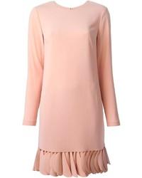 DKNY Petal Trim Shift Dress